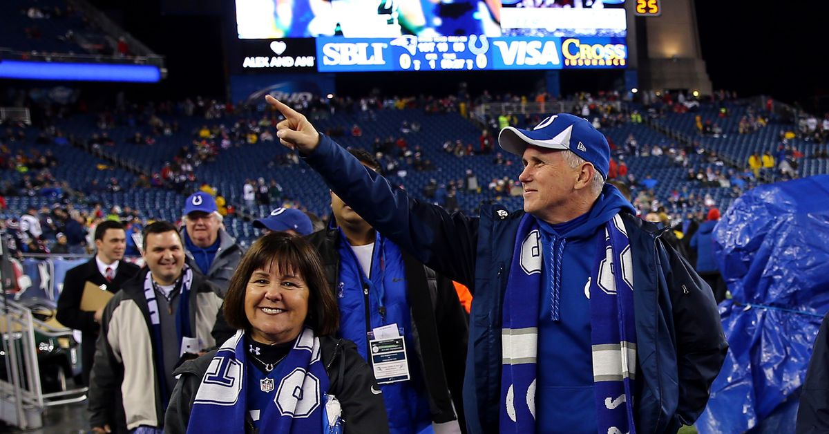 Vice President Mike Pence cost police over $14,000 with political stunt at Colts game