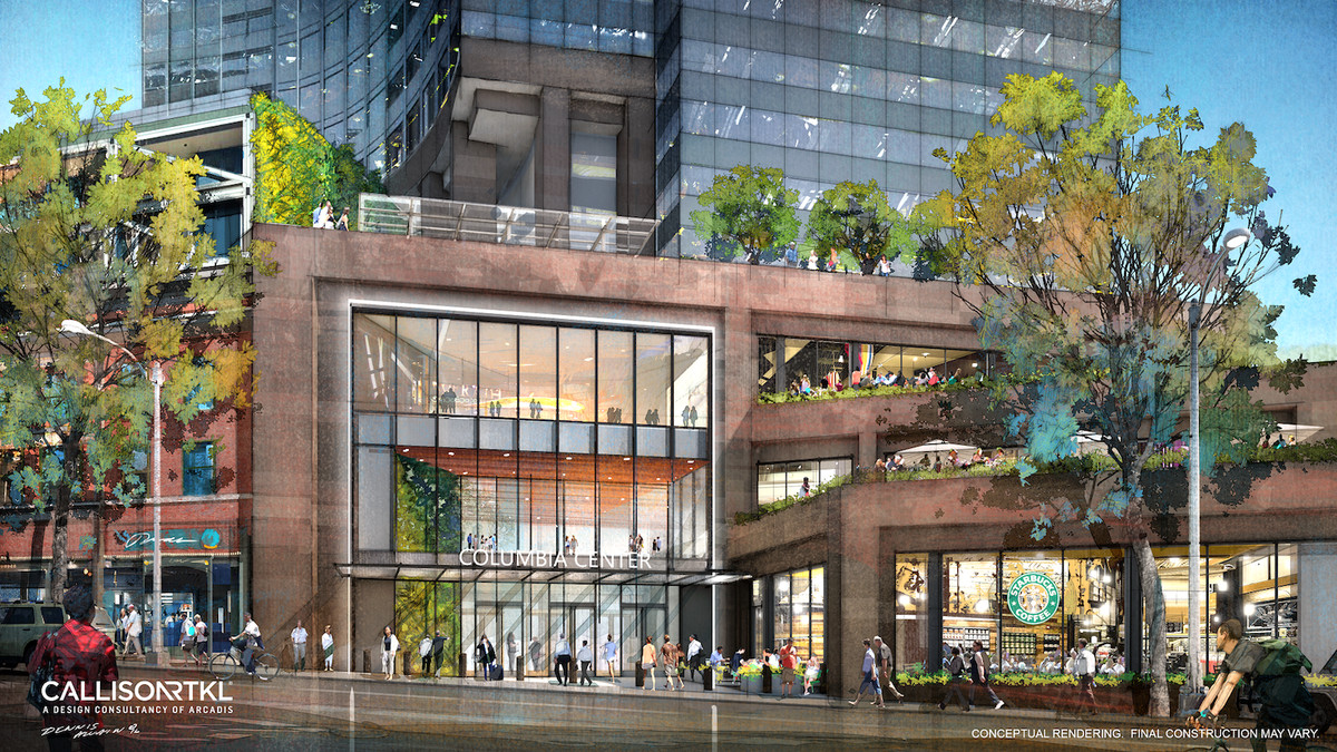 Aimed at downtown office workers will gain what urg calls a grand feature staircase connecting the first and second floors brick flooring will be