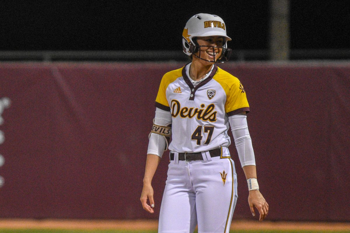 ASU Softball: 13th ranked ASU rebounds with doubleheader sweep in Palm Springs