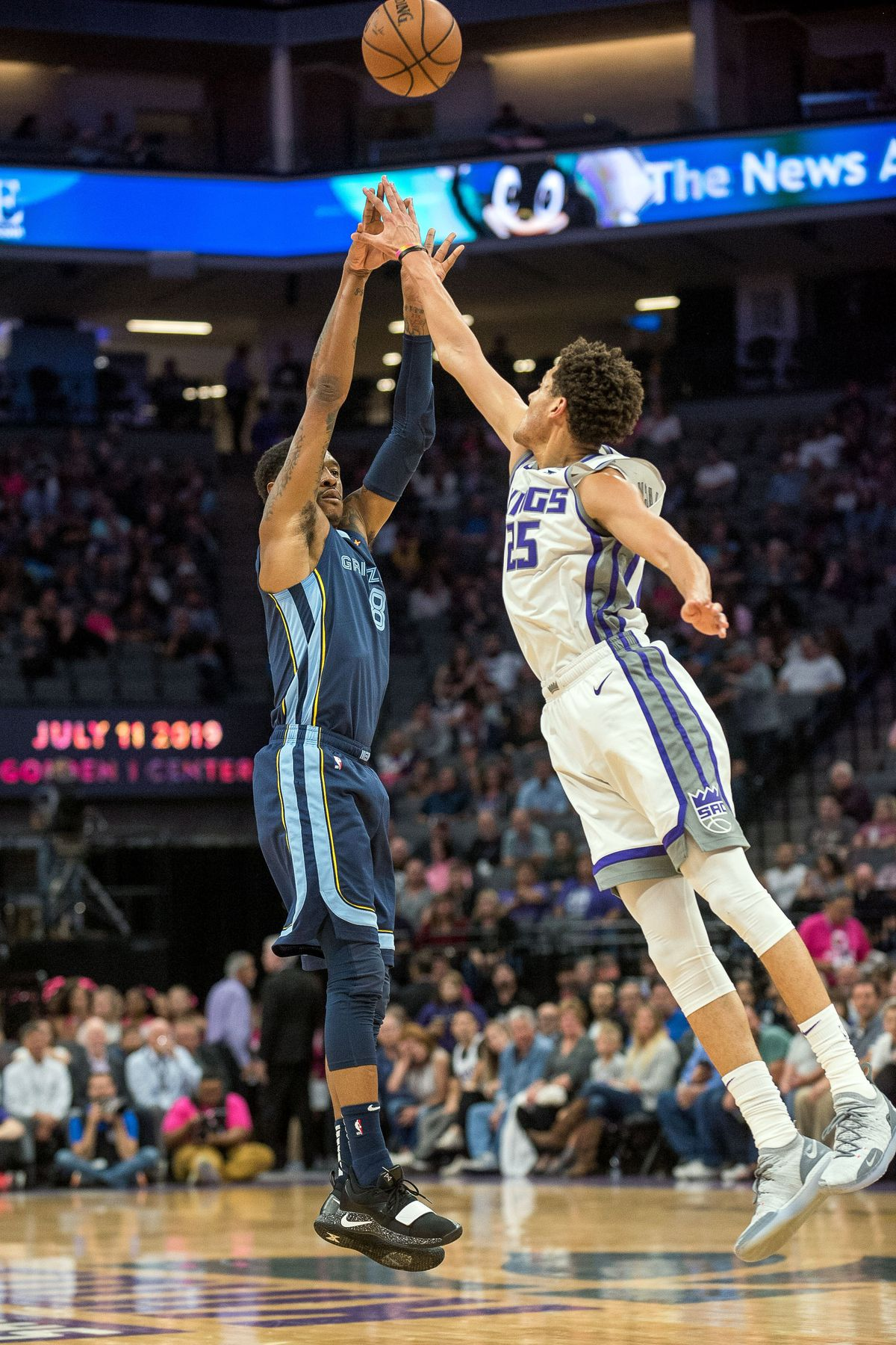 NBA Memphis Grizzlies at Sacramento Kings
