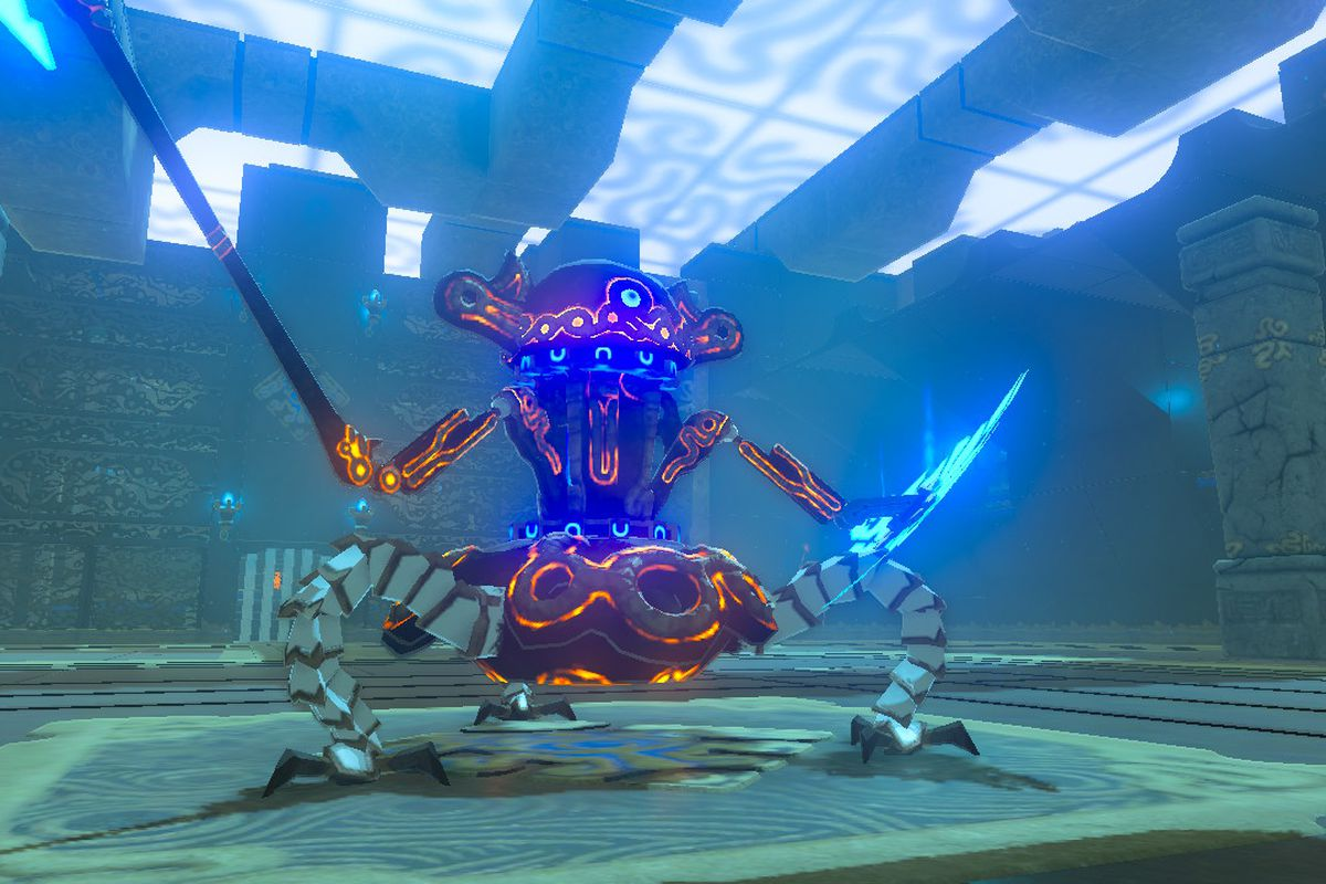 Zelda: Breath of the Wild guide: Guardian Slideshow shrine
