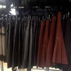 Now's your chance to grab a quality leather or suede skirt for $200.