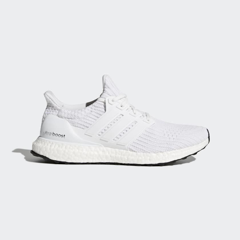 5749867eb shop lyst adidas originals ultra boost running shoe in black 62174 65baa   new zealand triple cloud white ultra boost 3.0 adidas 158e4 58cff