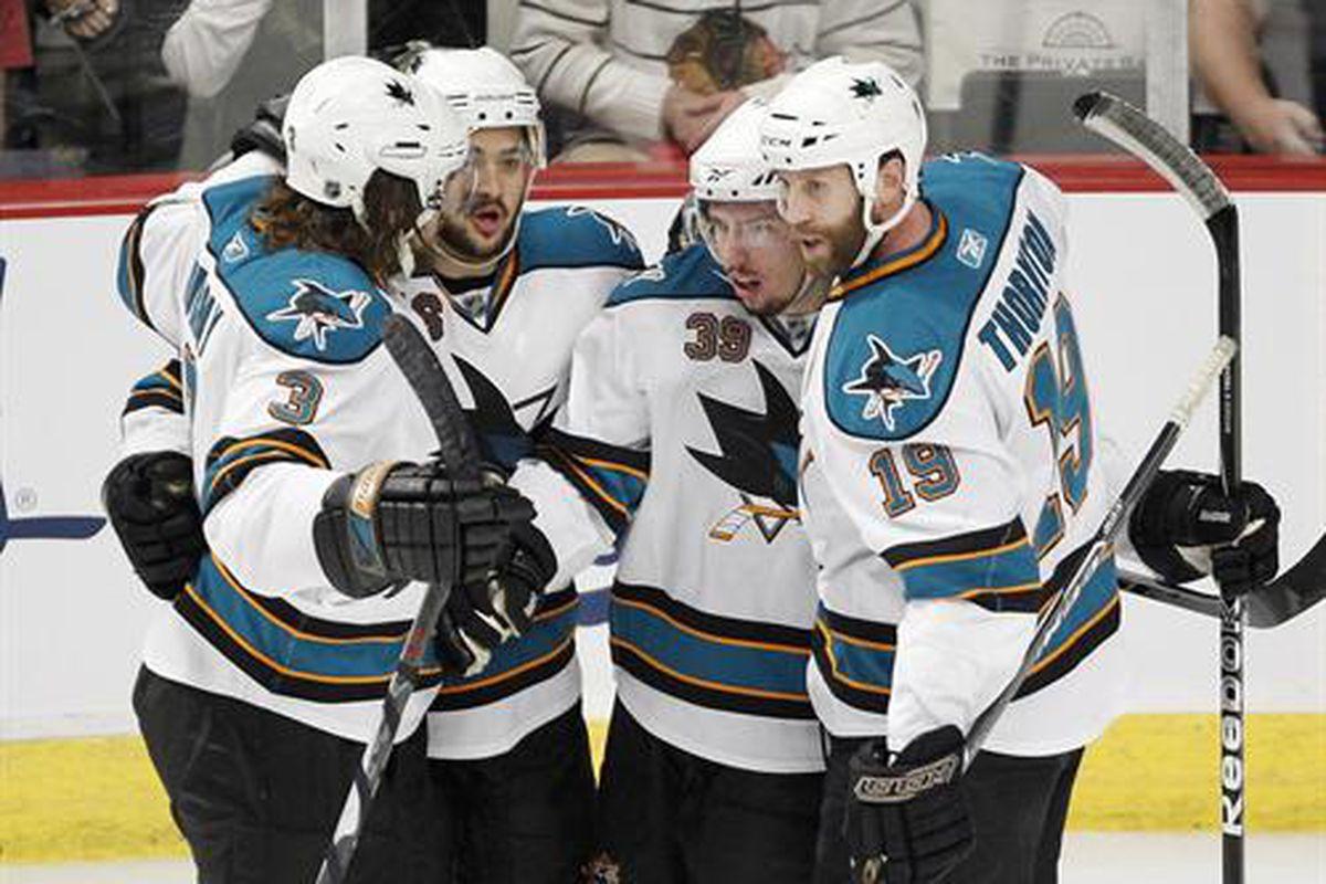 "It's difficult to win a hockey game with only one line.  (UPI/Brian Kersey Photo via Newscom) via <a href=""http://cdn.picapp.com/ftp/Images/2/a/8/c/Sharks_celebrate_Couture_0f25.JPG?adImageId=12977969&imageId=8892718"">cdn.picapp.com</a>"