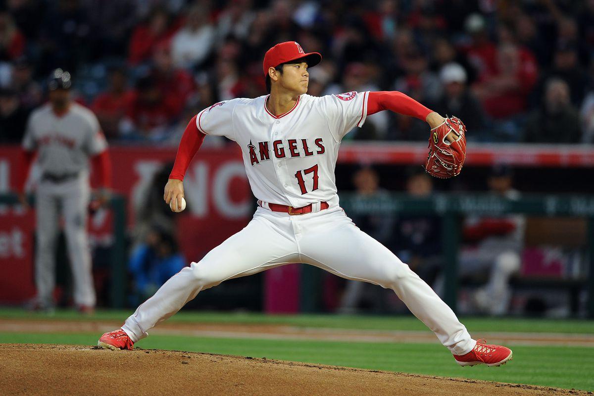 MLB: APR 17 Red Sox at Angels