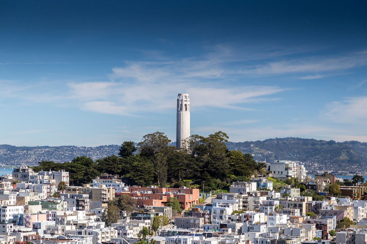 Coit Tower 85 Facts About Sf S Tower For Its 85th Birthday Curbed Sf