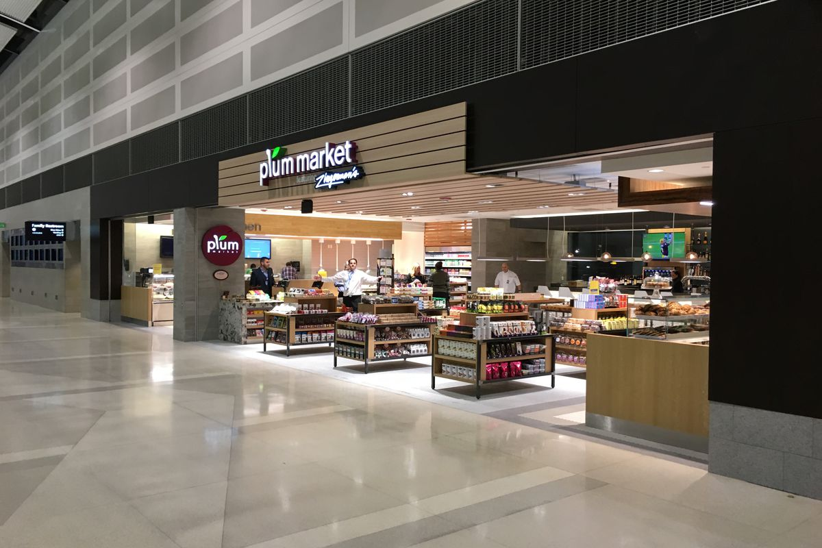 Plum Market debuted in the McNamara terminal today.