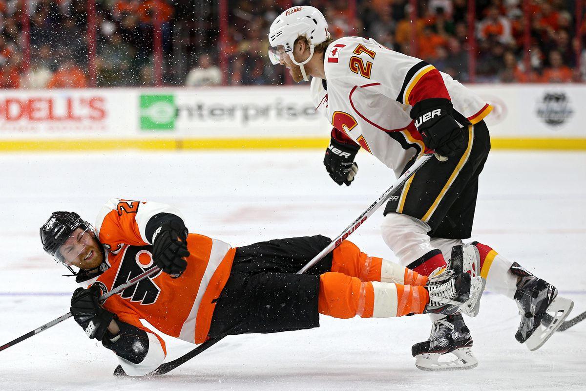 Calgary Flames v Philadelphia Flyers