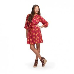 Tucker for Target Signature Dress in Floral Print $39.99