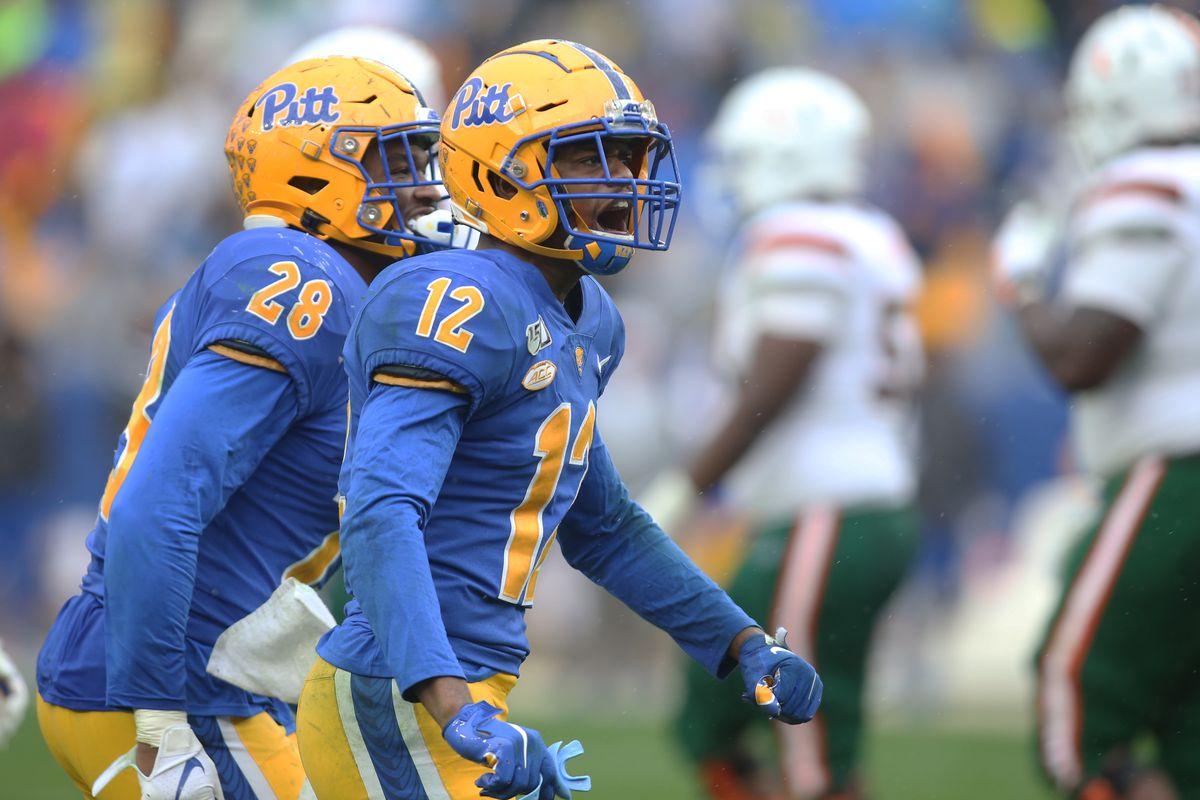 NCAA Football: Miami at Pittsburgh