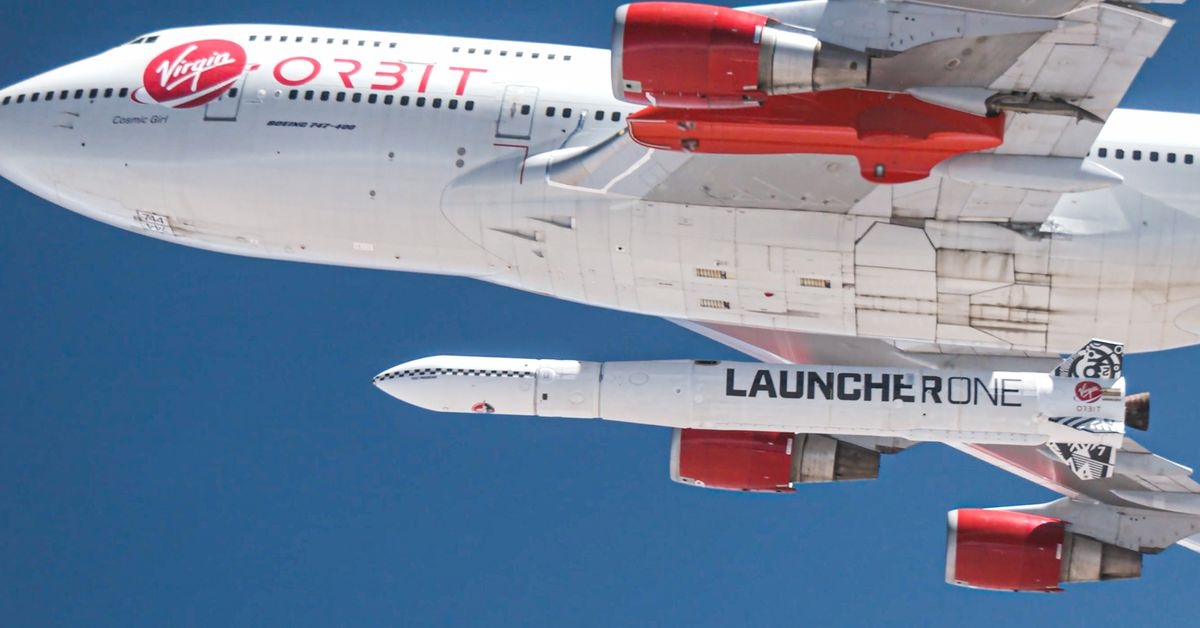 Virgin Orbit set to try and send satellites to space for the first time - The Verge