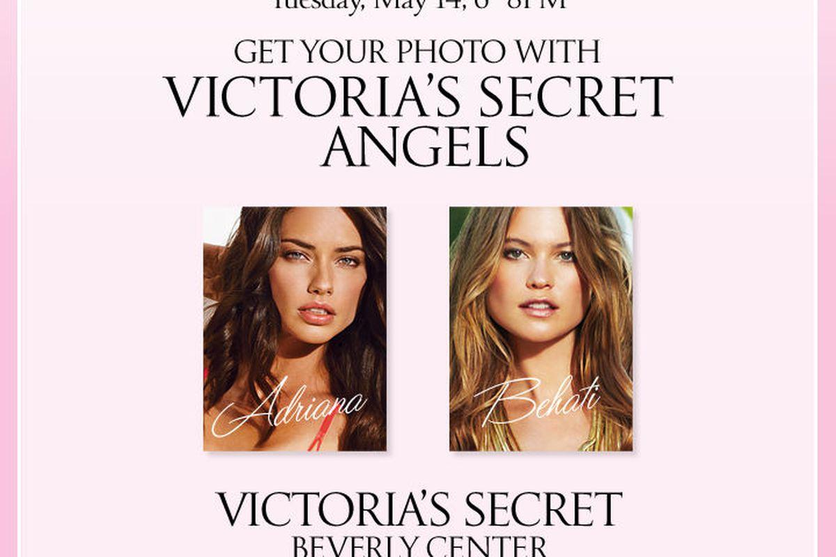 Flyer via Victoria's Secret
