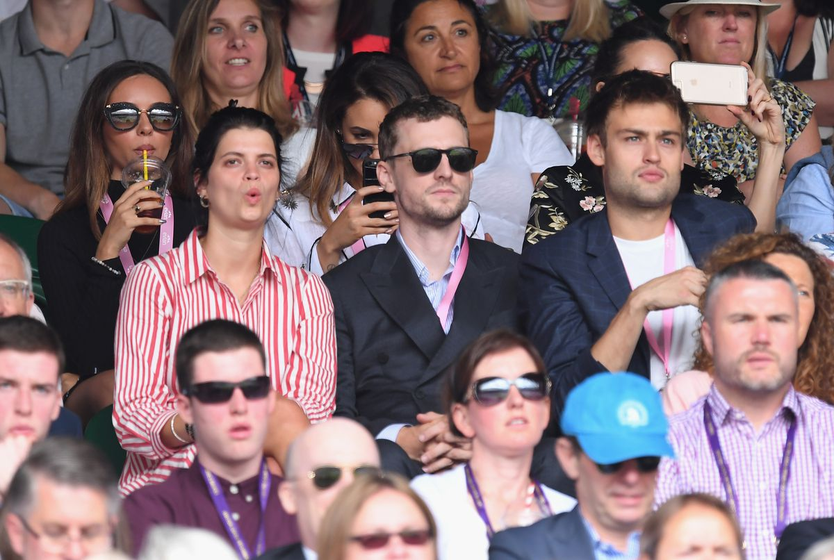 The evian Live Young Suite On The Opening Day Of The Championships At Wimbledon 2017