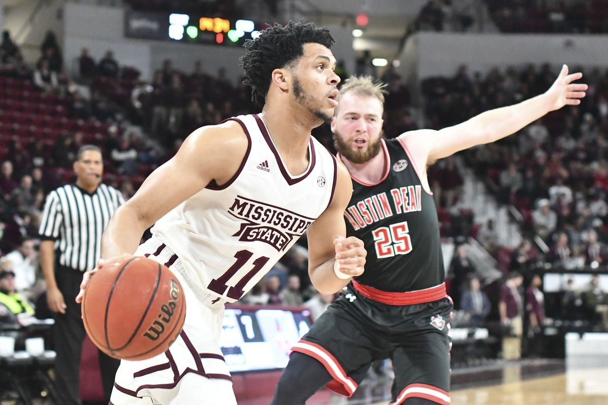 NCAA Basketball: Austin Peay at Mississippi State
