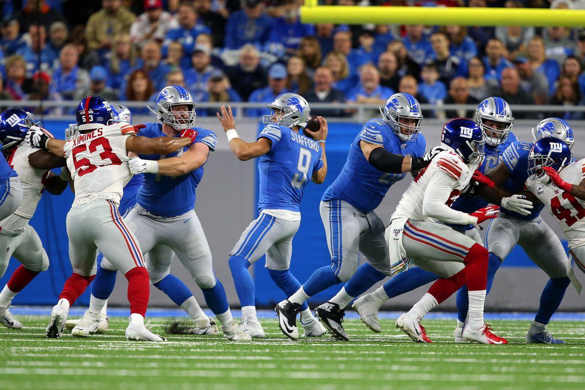 New York Giants v Detroit Lions