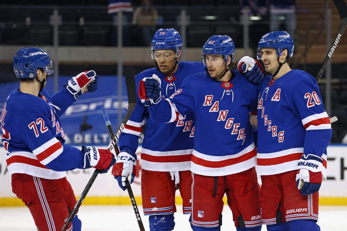 Buffalo Sabres v New York Rangers