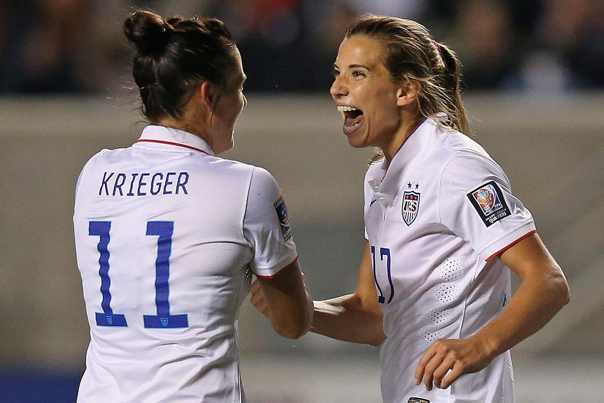 Heath was once again dominant, this time against Ali Krieger and the Spirit.