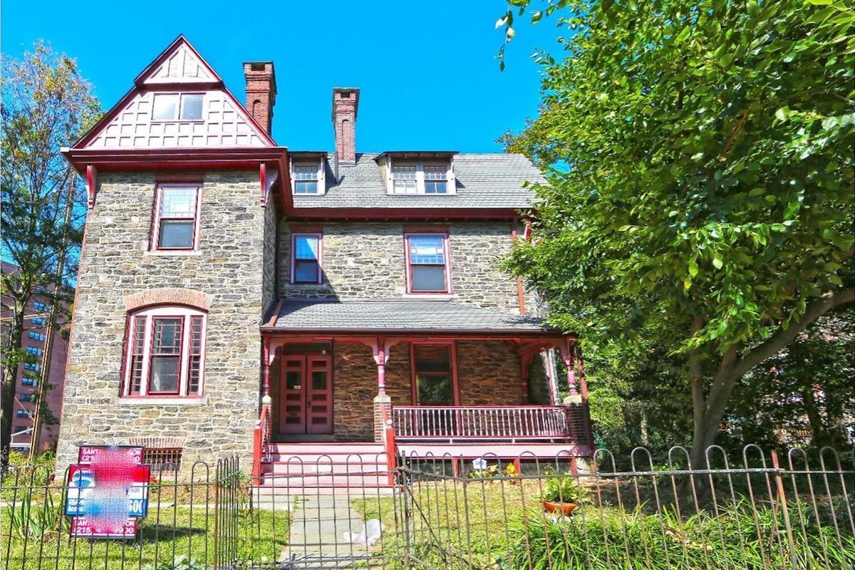 Spruce up this Germantown Victorian, asking $445K - Curbed Philly on