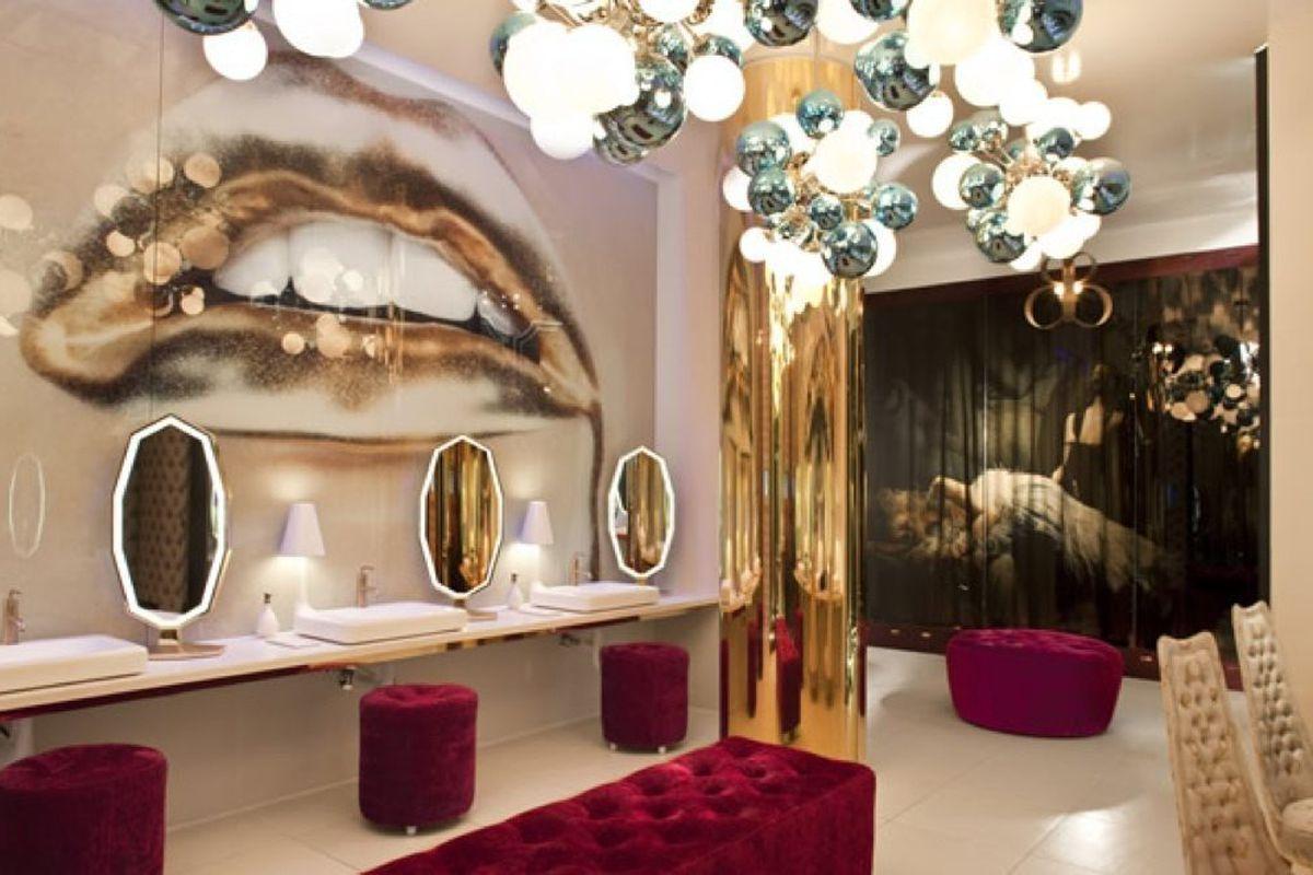 Could Vanity Have The Best Bathroom In America Eater Vegas