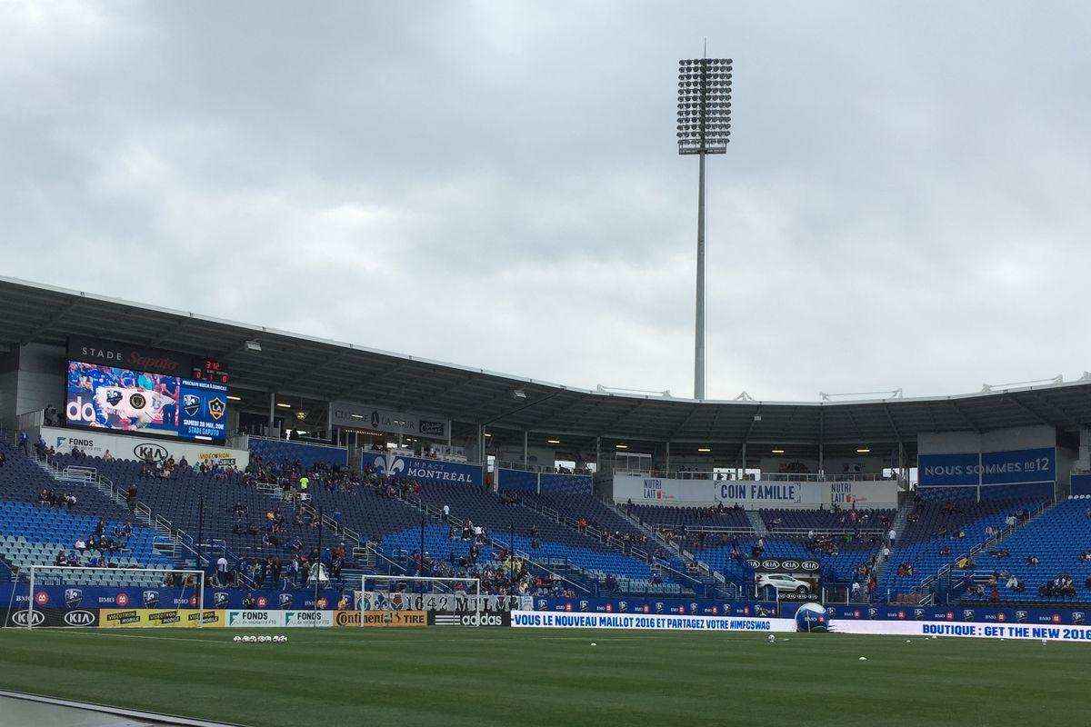 Stade Saputo, home of the Montreal Impact.