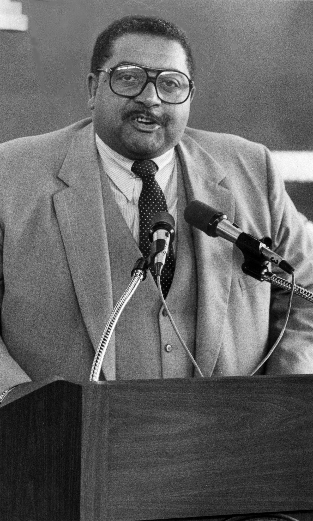 Ald. William Carothers in 1981.