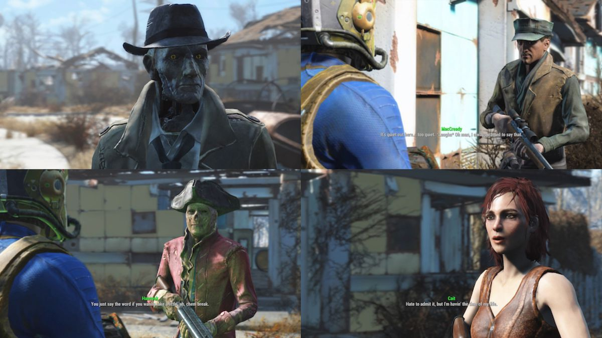 Fallout 4 companions guide - Polygon