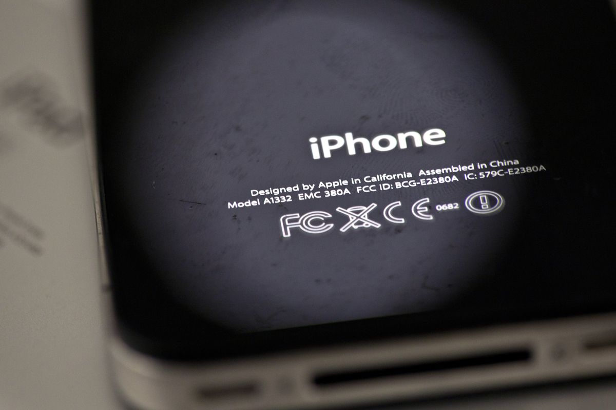 FILE- In this Thursday, Dec. 6, 2012, photo, the back of an iPhone 4 in New York. Apple is apologizing for secretly slowing down older iPhones, which it says was necessary to avoid unexpected shutdowns related to battery fatigue. The company issued the st