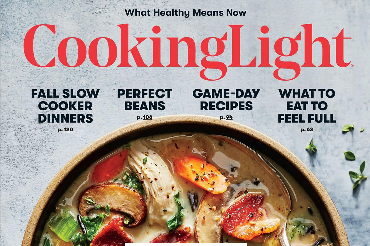 Cooking light to end regular print issues and subscriptions eater some of americas most reliable lifestyle and healthy recipe magazines will disappear from mailboxes at the end of 2018 less than a year after devouring forumfinder Images