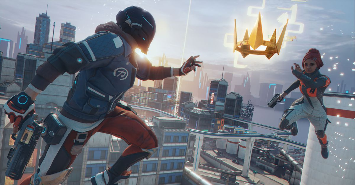 Ubisoft's Hyper Scape is a fast chaotic battle royale from the team behind Rainbow Six Siege – The Verge