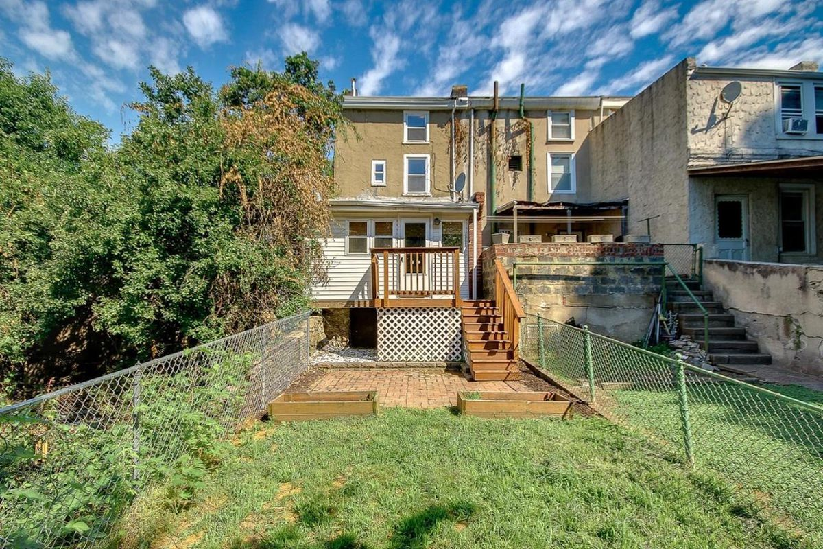 big reveal 209k for a manayunk home with a big backyard curbed
