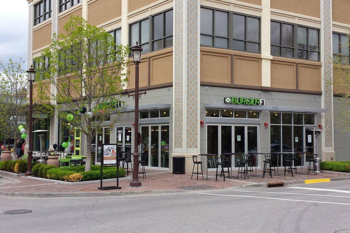 A BurgerFi location in Kansas