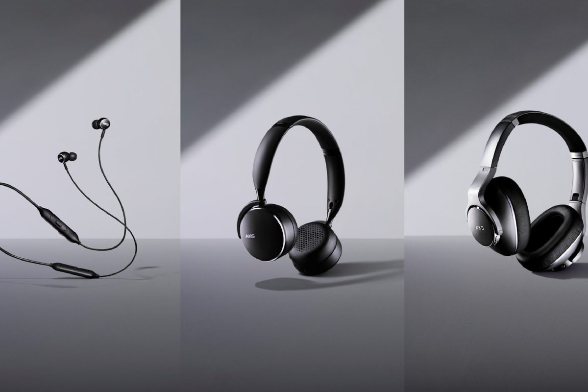 Samsung unveils three new AKG wireless headphones - The Verge
