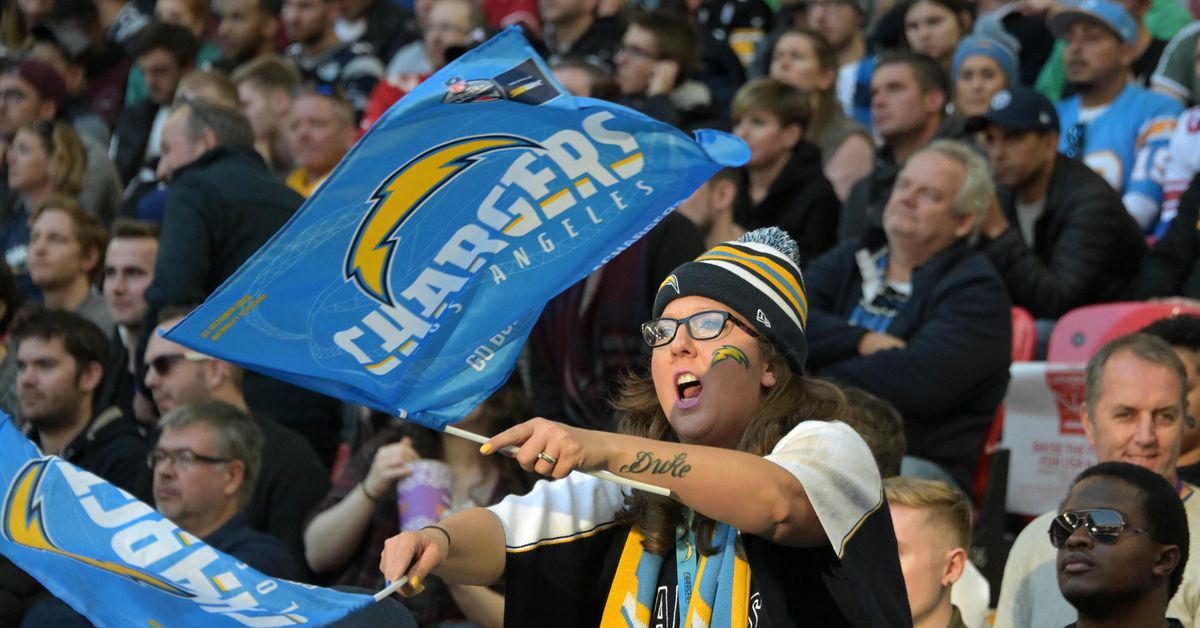 The Chargers traveled farther than almost anyone in 2018