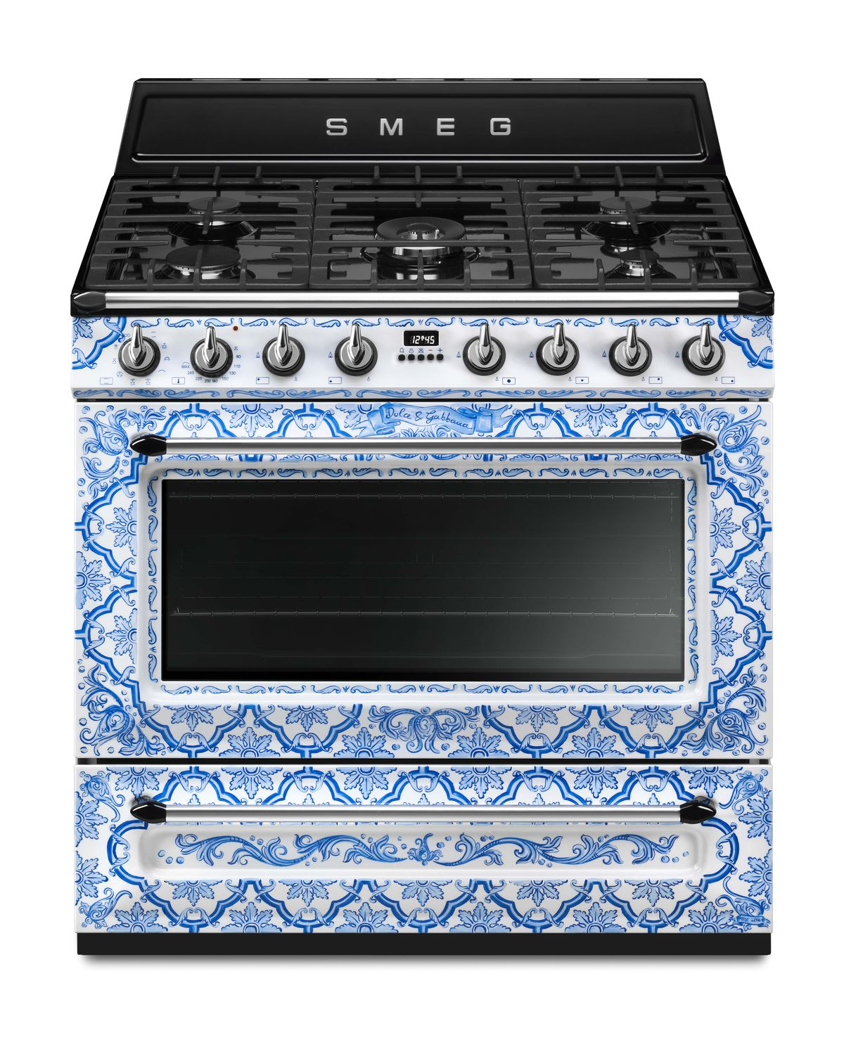 Dolce & Gabbana for Smeg kitchen appliances expands again - Curbed