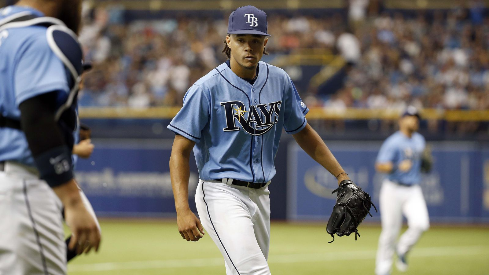 Rays ace Chris Archer showed off 4 pitches on Opening Day