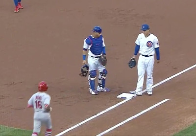 image  1  - Kolten Wong and the very silly groundout