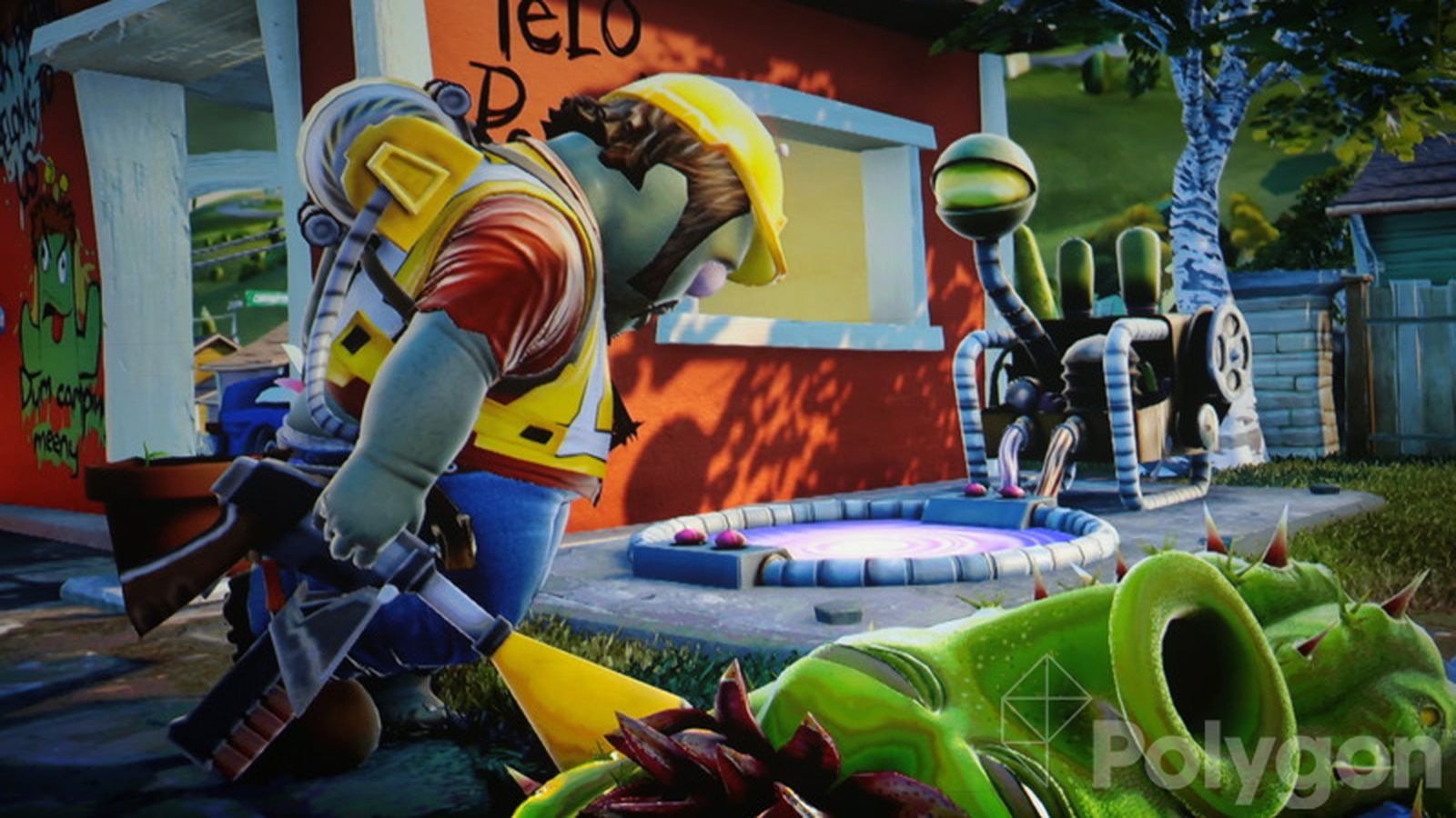 Plants Vs Zombies Garden Warfare Includes Playable Zombies New Boss Mode Polygon