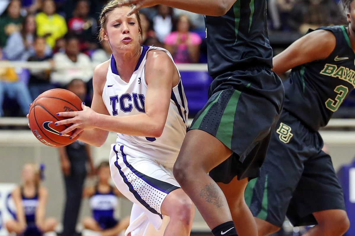 Transfer Kamy Cole led TCU in assists and steals last season before transferring to SMU.
