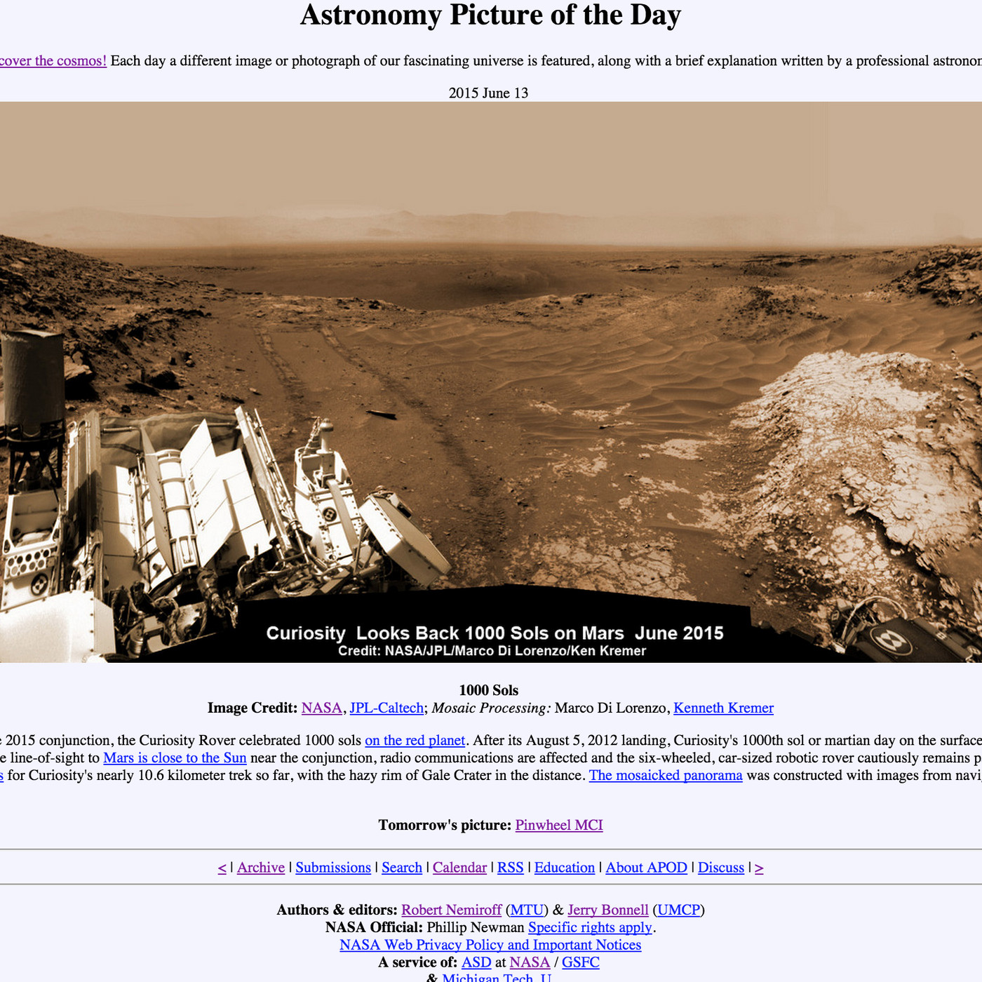 theverge.com - Sean O'Kane - 20 years of space photos: an oral history of Astronomy Picture of the Day