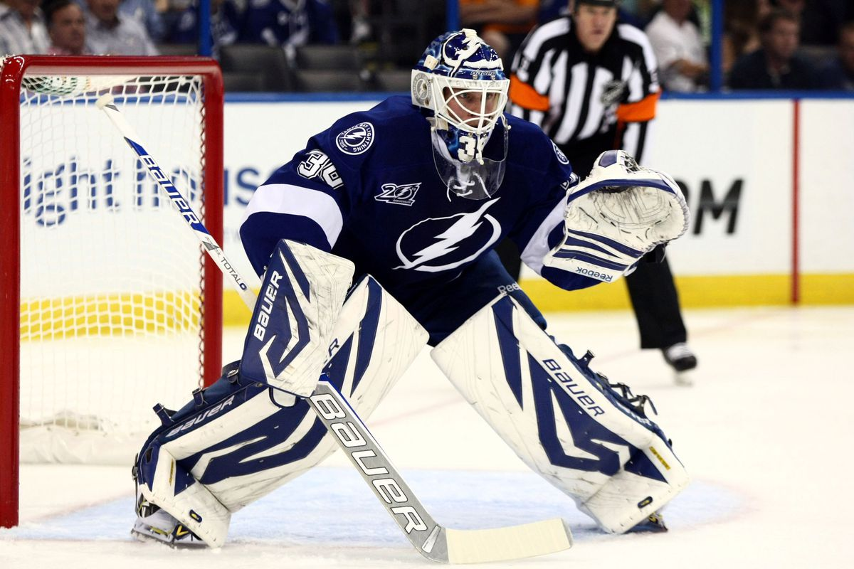 Anders Lindback is one of five goalies that Frantz Jean has worked with over the course of the last three seasons. None of those goaltenders had a save percentage better than .902 during that span.