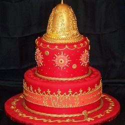 Elshane's wedding cake inspiration.