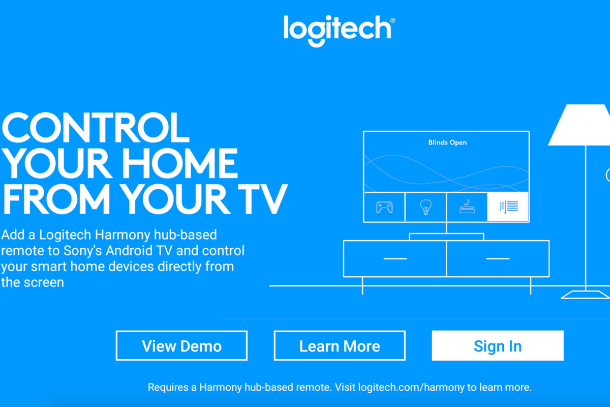 Logitech's Harmony app will let you control your smart home from