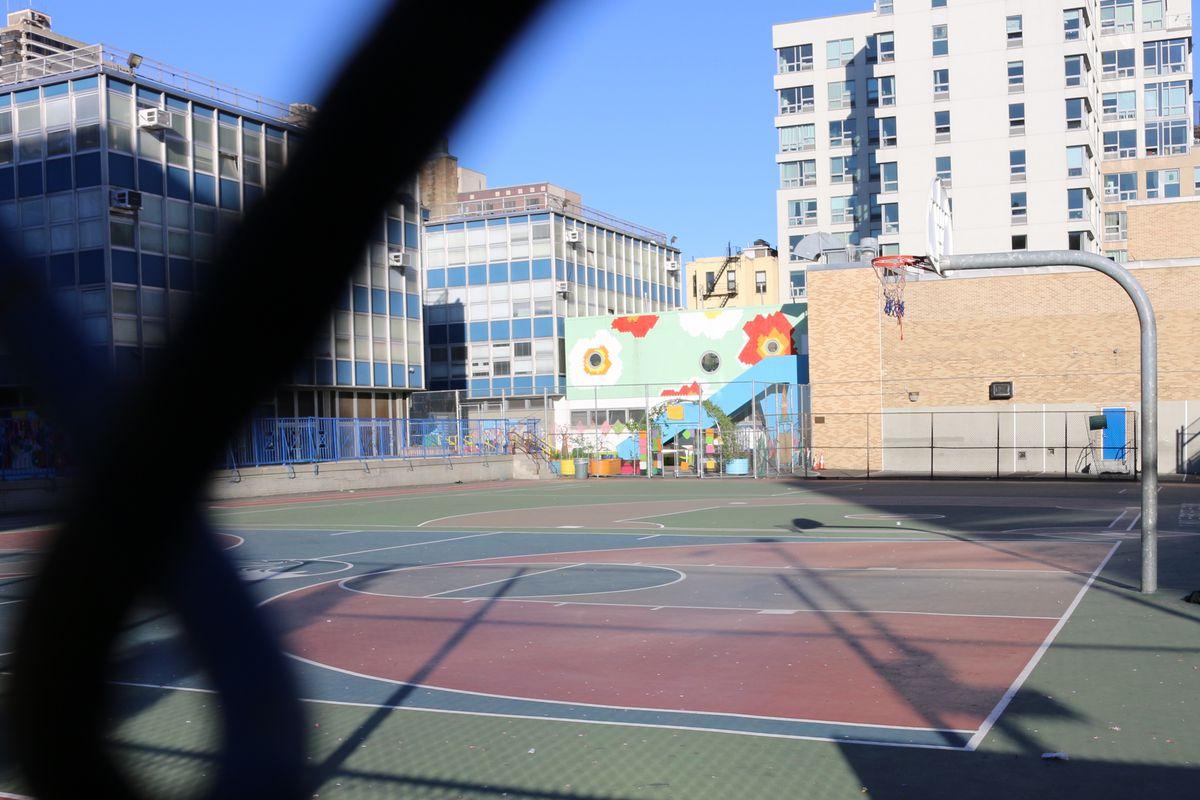 "Global Technology Preparatory, the school where Baiz felt ""powerless."" (Photo by Monica Disare/Chalkbeat)"