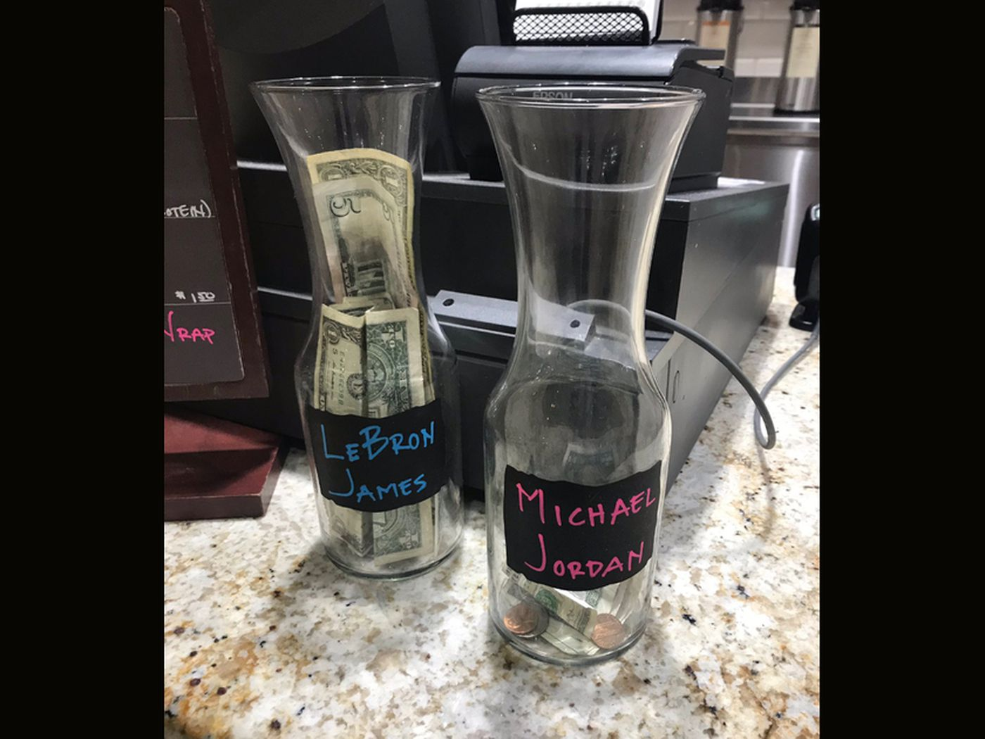 26 Tip Jar Ideas Coffee Shops Should Use To Get Money From Sports Fans Sbnation Com