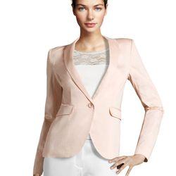 "<a href=""http://www.hm.com/us/product/98983?article=98983-B#&campaignType=K&shopOrigin=QL"">Pink blazer</a>, $29.95"
