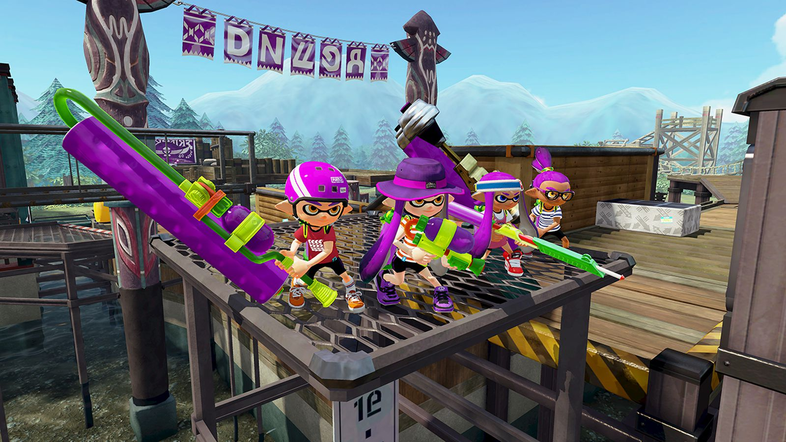 How Nintendo Is Using Teen Squids To Reinvent Online