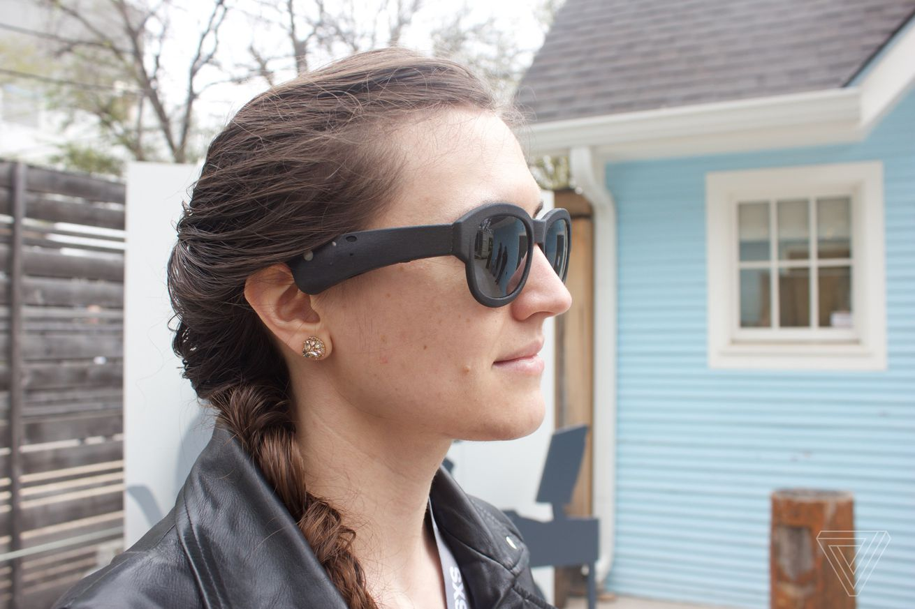 bose s augmented reality glasses use sound instead of sight