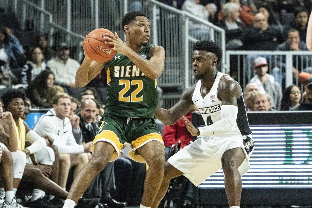 NCAA Basketball: Siena at Providence