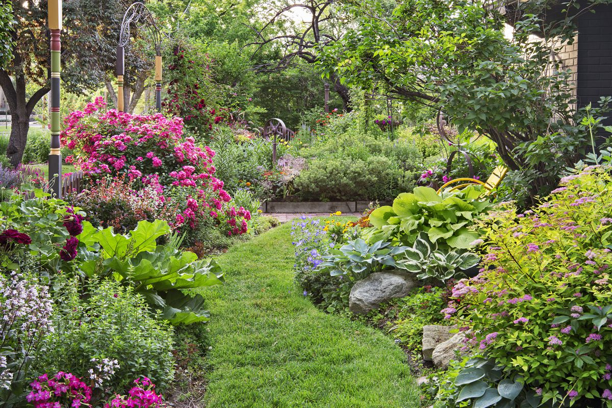 Creating A Secret Garden This Old House