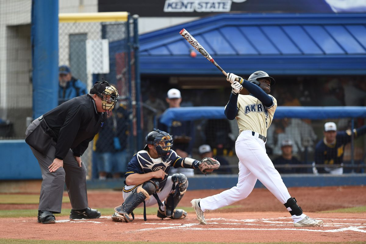 Devan Ahart was drafted by the Dodgers in the 16th round out of Akron.